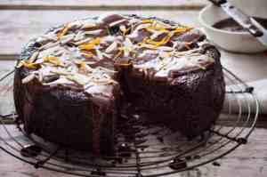 mexican chocolate cake vegan